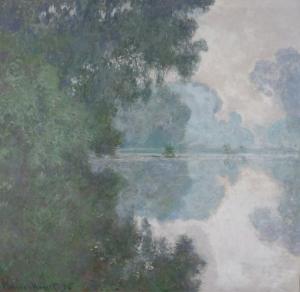 Claude Monet Kompozisyon 3 Yağlı Boya Sanat Kanvas Tablo