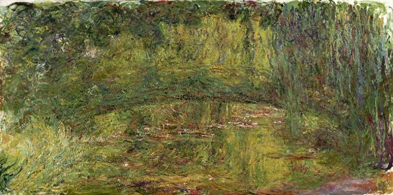 Claude Monet Le Pont Japonais Yağlı Boya Sanat Kanvas Tablo