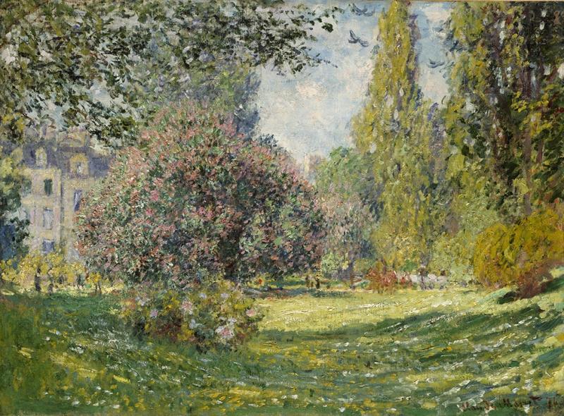 Claude Monet Manzara Yağlı Boya Sanat Kanvas Tablo