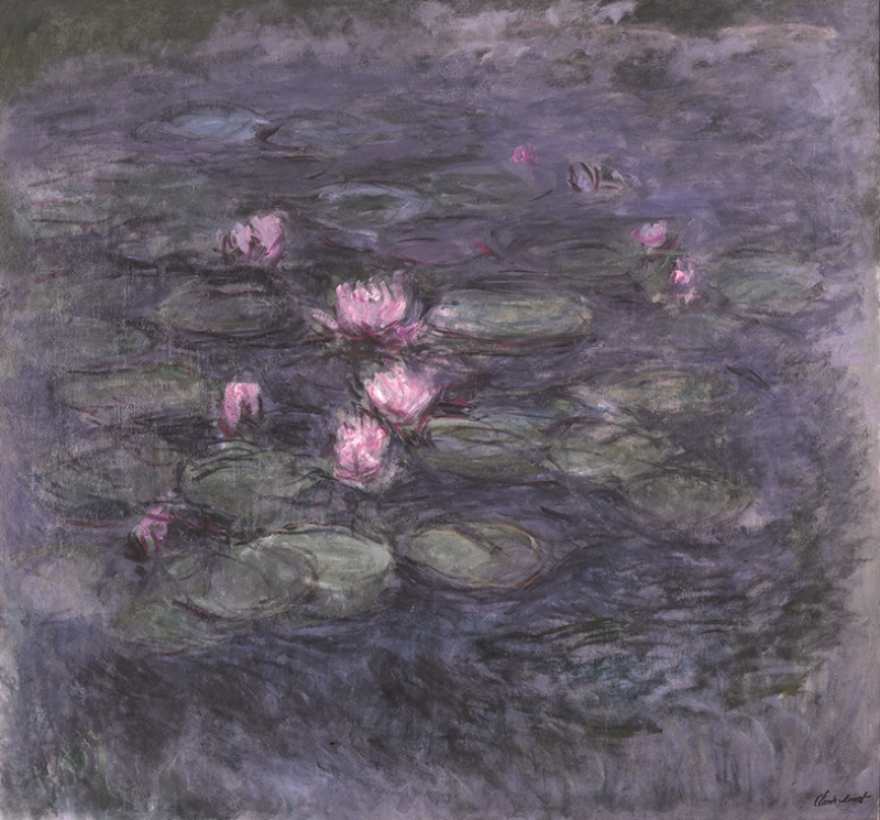 Claude Monet Nympheas Yağlı Boya Sanat Kanvas Tablo