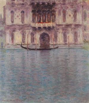 Claude Monet Palazzo Contarini Venice Yağlı Boya Sanat Kanvas Tablo