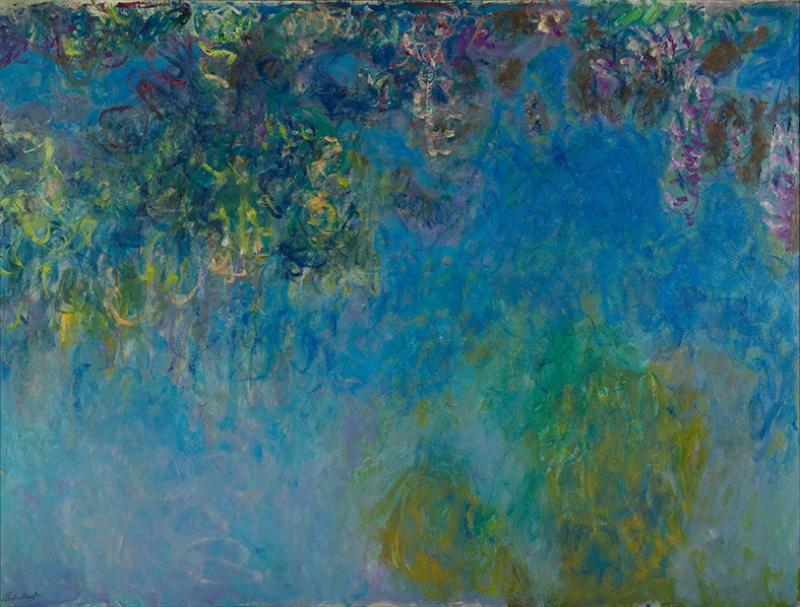 Claude Monet Wisteria Yağlı Boya Sanat Kanvas Tablo
