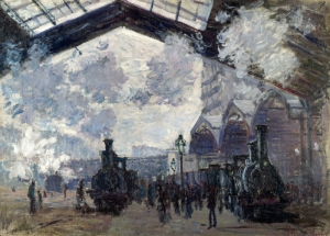 Claude Monet Yağlı Boya Klasik Sanat Kanvas Tablo