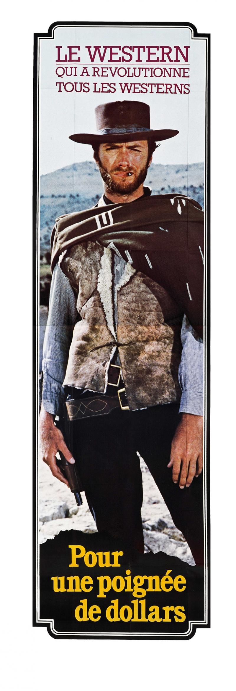 Client Eastwood Film Popüler Kültür Kanvas Tablo
