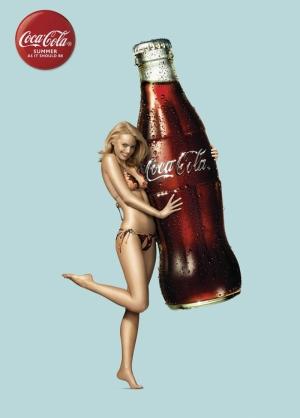 Coca Cola Yaz Popüler Kültür Kanvas Tablo