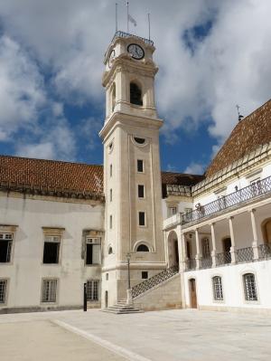 Coimbra Üniversitesi 2 Unesco Dünya Kültür Mirasları Kanvas Tablo