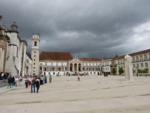 Coimbra Üniversitesi Coimbra Unesco Dünya Kültür Mirasları Kanvas Tablo