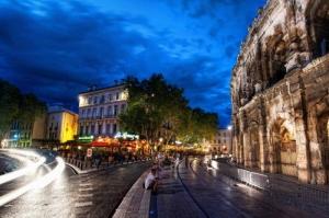 Collesseo Roma, İtalya, Akşam Manzara Dünyaca Ünlü Şehirler Kanvas Tablo