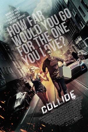 Collide Film Afişi Sinema Kanvas Tablo