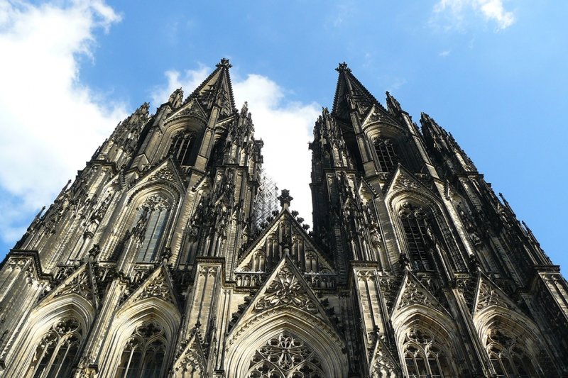 Cologne Dom Unesco Dünya Kültür Mirasları Kanvas Tablo