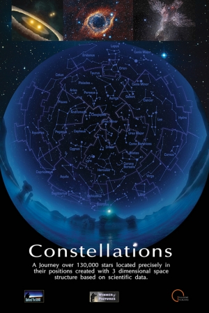 Constellations Film Afişi Sinema Kanvas Tablo