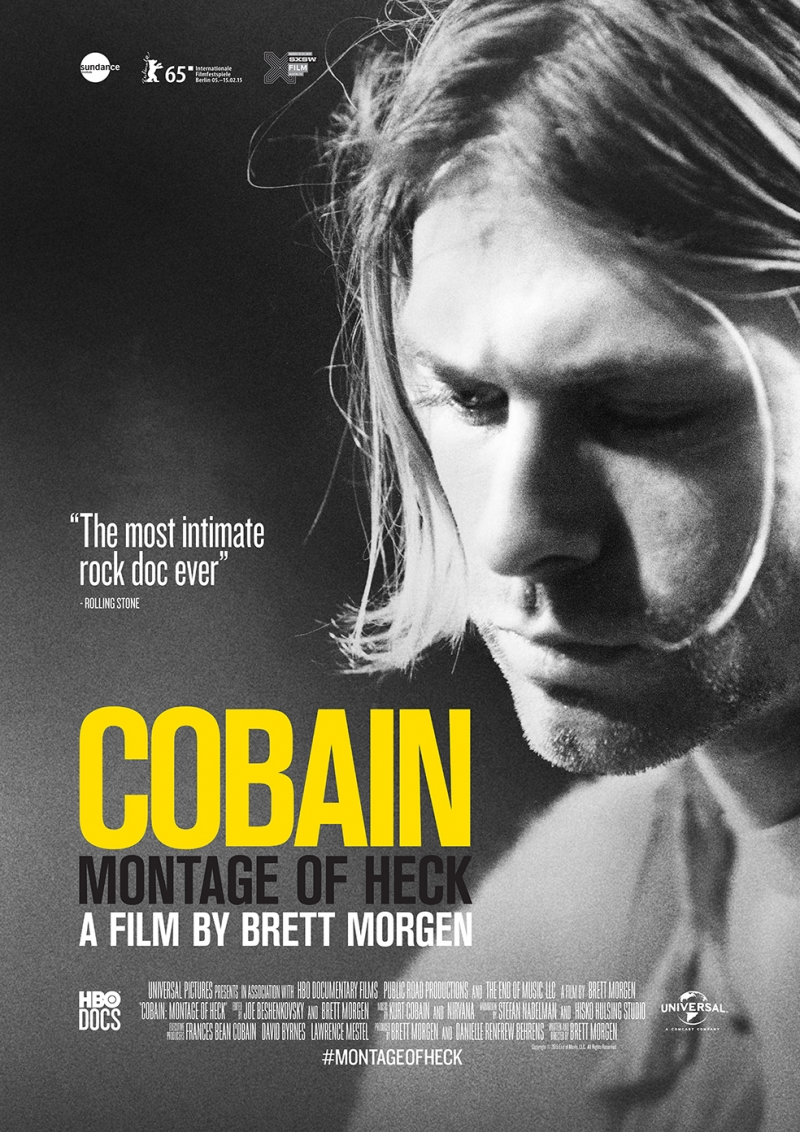 Cobain Poster Popüler Kültür Kanvas Tablo
