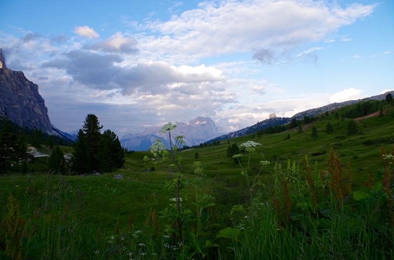 Cortina Dampezzo Dağı Doğa Manzaraları Kanvas Tablo