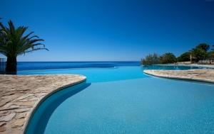 Costa Dei Fiori Sardenya İtalya Doğa Manzaraları Kanvas Tablo