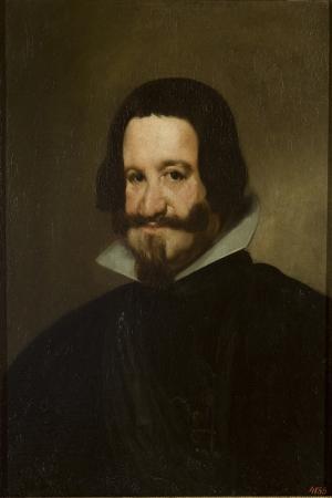 Count Duke De Olivares-1638 Diego De Velazquez Klasik Sanat Kanvas Tablo