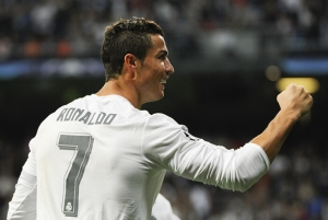 Cristiano Ronaldo Real Madrid Spor Kanvas Tablo