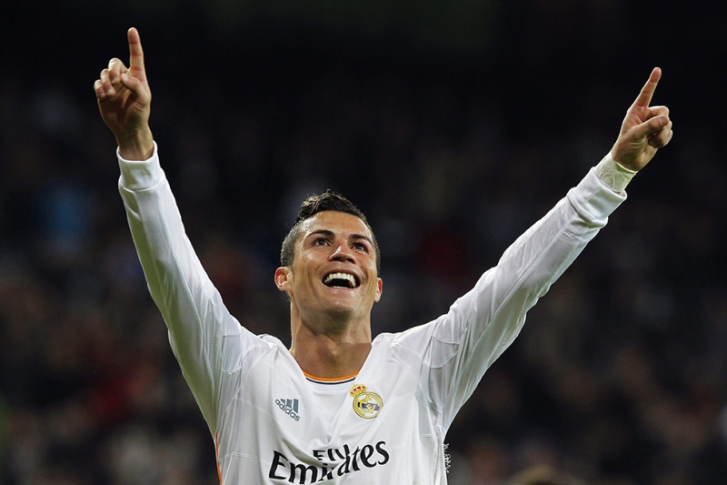 Cristiano Ronaldo Spor Kanvas Tablo