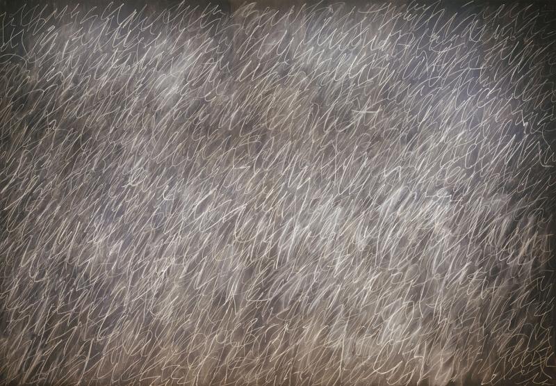 Cy Twombly Soyut Yağlı Boya Klasik Sanat Canvas Tablo