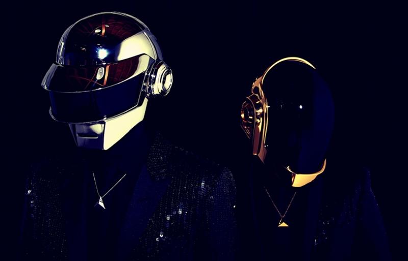Daft Punk 3 Popüler Kültür Kanvas Tablo