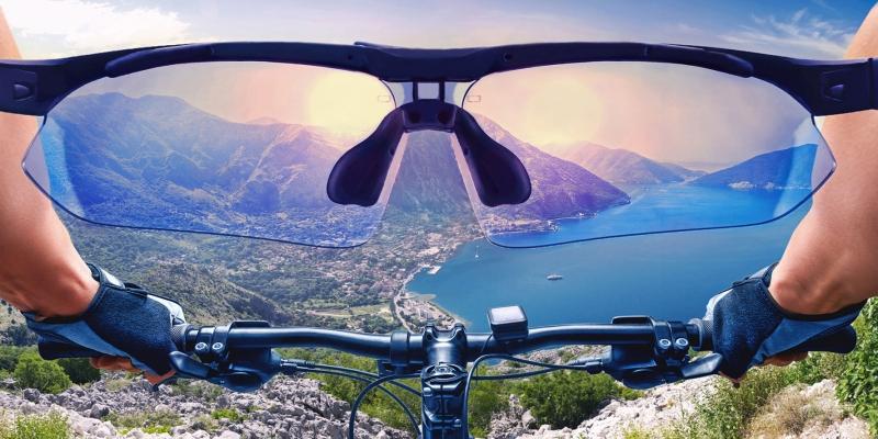 Dağ Bisikletinden Vadi Manzarası Doğa Manzaraları Kanvas Tablo