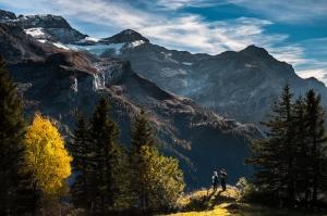 Dağ Fotoğraf Kanvas Tablo