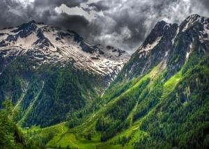 Dağ Manzarası Kanvas Tablo