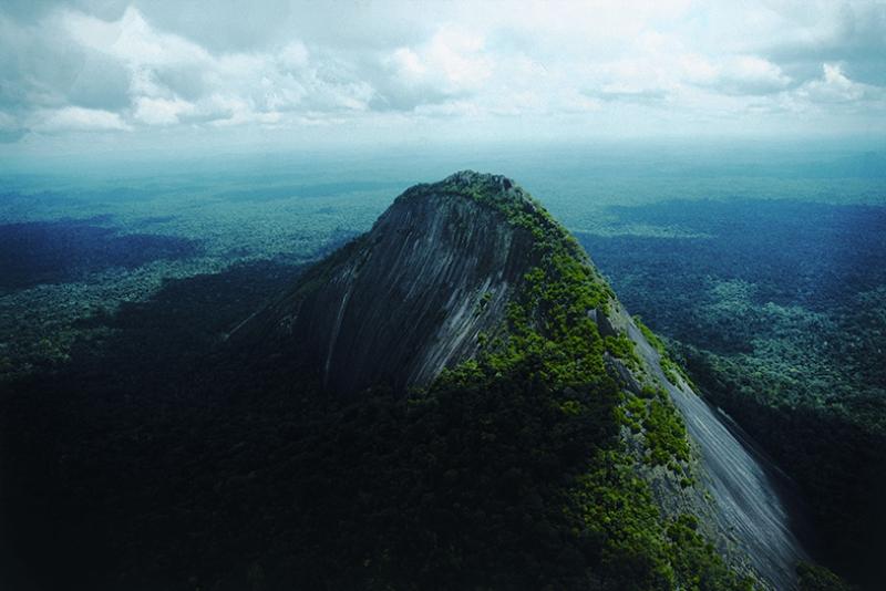 Dağ Manzarası Yeşil Doğa Kanvas Tablo