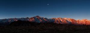 Dağ Panaromik Doğa Manzaraları Kanvas Tablo
