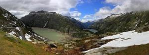 Dağ ve Doğa 2 Panaroma Panaromik Manzara Kanvas Tablo
