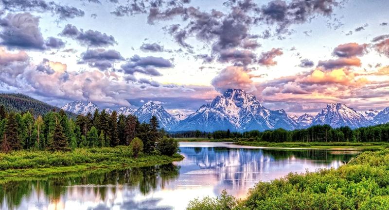 Dağ ve Doğa Manzaraları Kanvas Tablo