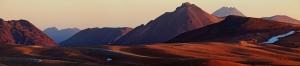 Dağ ve Doğa Panaroma Panaromik Manzara Kanvas Tablo
