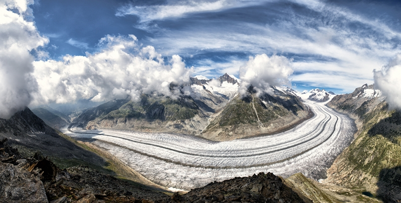 Dağ Yolu Fotoğraf Kanvas Tablo