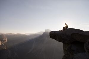 Dağ Zirvesi Doğa Manzaraları Kanvas Tablo