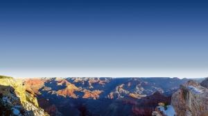 Dağlar ve Gökyüzü Doğa Manzaraları Kanvas Tablo