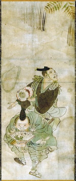 Dans Eden Gençler Japon Sanatı Yağlı Boya Sanat Kanvas Tablo