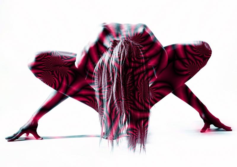 Dans Fotoğraf Kanvas Tablo