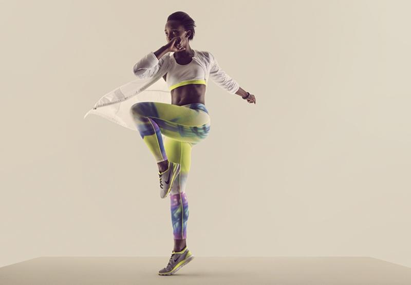 Dansçı Kız Dans Spor Kanvas Tablo