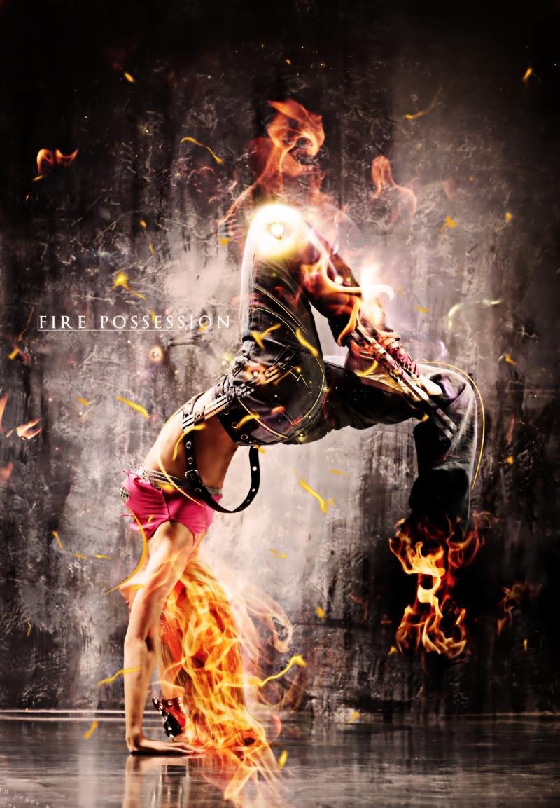 Dansçı Kız - Modern Dans 2 - Kanvas Tablo