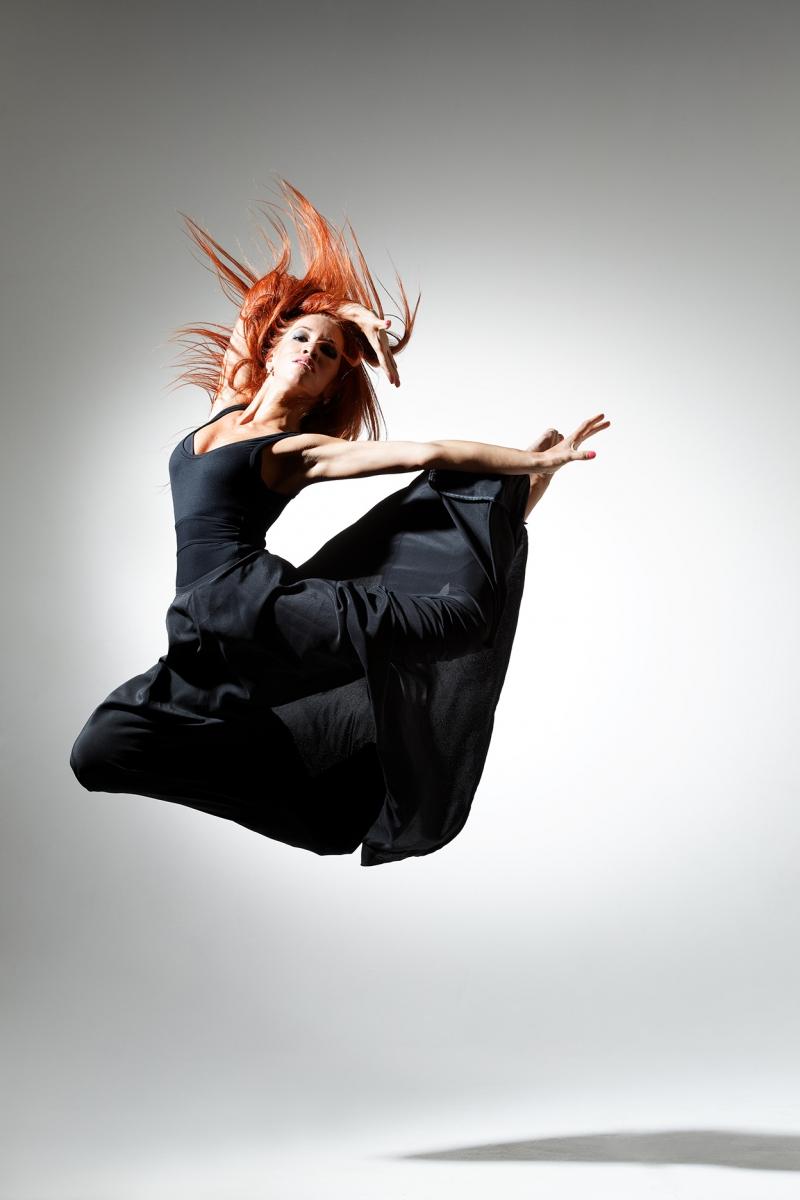 Dansçı Kız - Modern Dans 3 - Kanvas Tablo