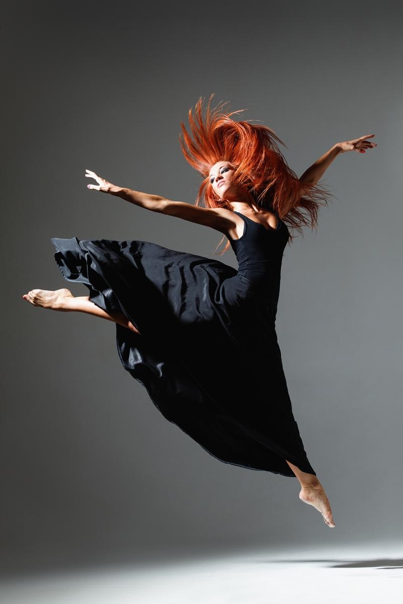 Dansçı Kız - Modern Dans 4 - Kanvas Tablo