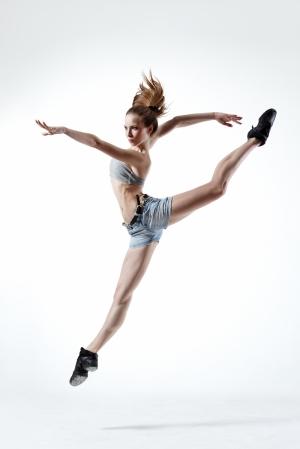 Dansçı Kız - Modern Dans 5 - Kanvas Tablo