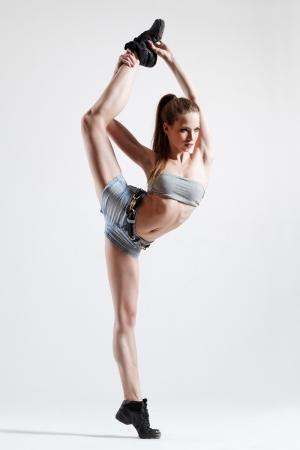 Dansçı Kız - Modern Dans 7 - Kanvas Tablo