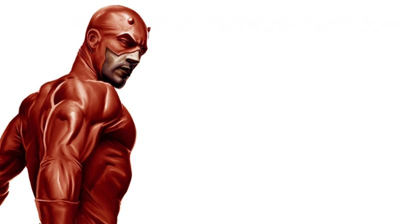 Daredevil Süper Kahramanlar Kanvas Tablo