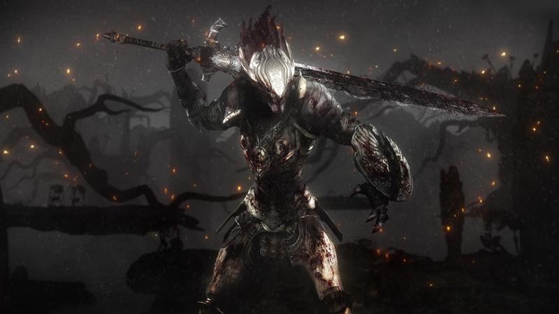 Dark Souls 3 Dijital ve Fantastik Kanvas Tablo