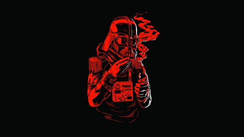 Dark Vader Star Wars Popüler Kültür Kanvas Tablo
