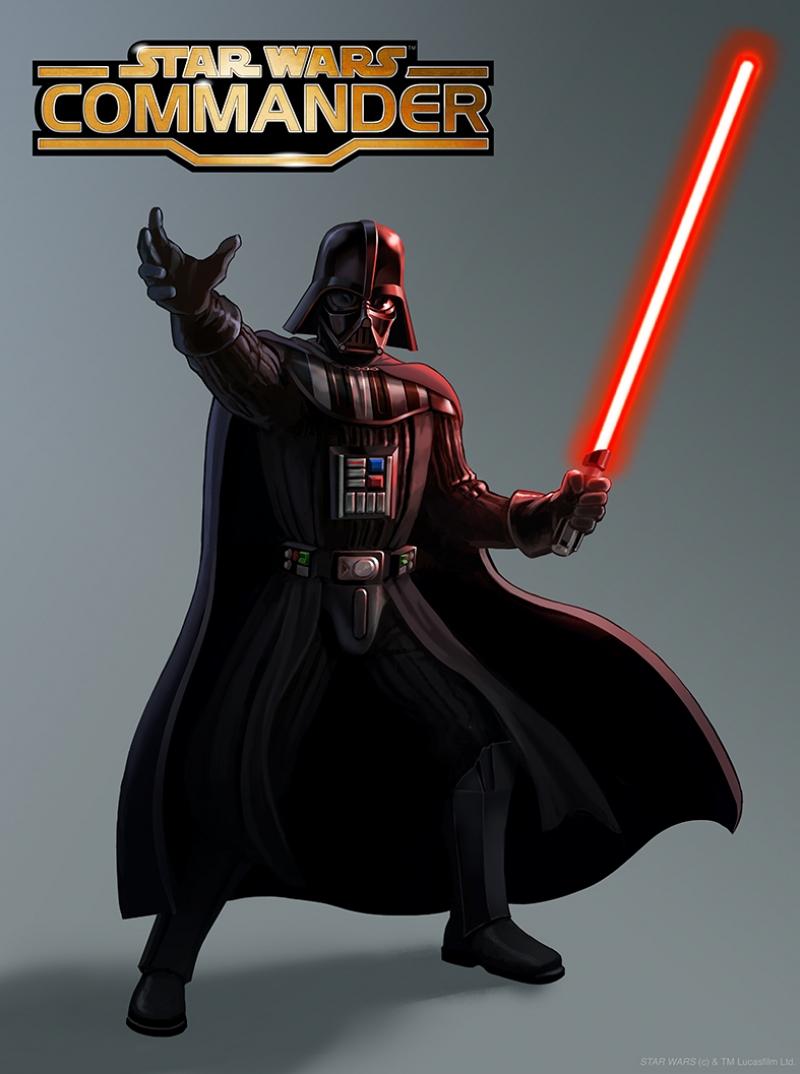 Darth Vader Commander Star Wars Kanvas Tablo