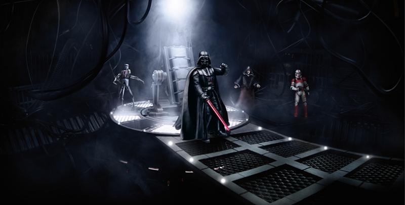 Darth Vader Power Star Wars Kanvas Tablo