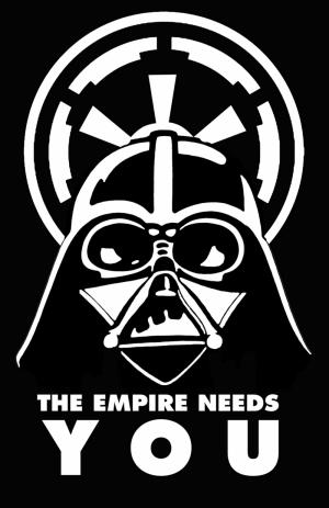 Darth Vader Star Wars Popüler Kültür Kanvas Tablo