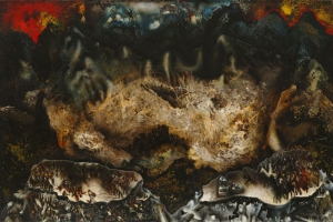 David Alfaro Siqueiros  Kollektif İntiharlar Yağlı Boya Klasik Sanat Canvas Tablo