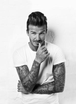 David Beckham Ünlü Yüzler Kanvas Tablo 2